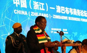 Zimbabwe, China sign 1-bln-USD MoU for setting up steel plant