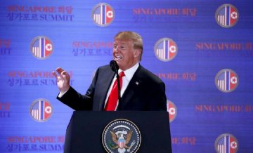 Trump says U.S. to stop war games with DPRK