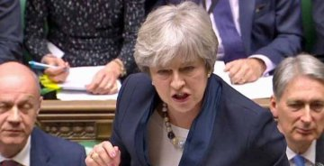 British PM May suffers defeat in House of Lords on Brexit bill