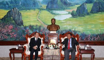China to enhance comprehensive cooperation with Laos: senior official