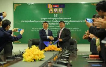 Cambodia, China sign MoUs on environmental protection