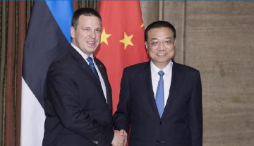China, Estonia agree to boost Belt and Road cooperation