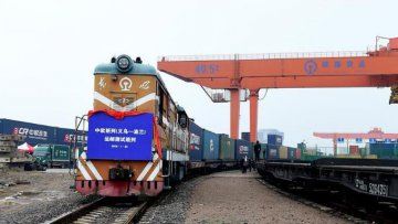 Number of China-Europe cargo trains up 69 pct y-o-y in H1
