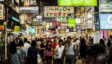 Hong Kong retail sales up 13.4 pct in first half year