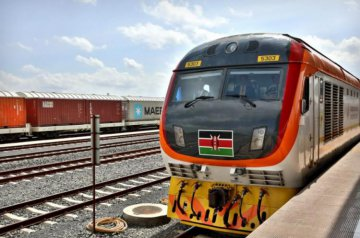 Chinese firm commences laying of tracks at Kenyas extended SGR