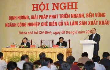 Wood processing to become spearhead in production: PM