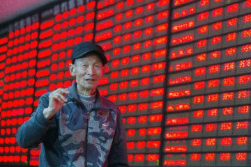 Chinese investors expect a turnaround in the beaten-down stock market