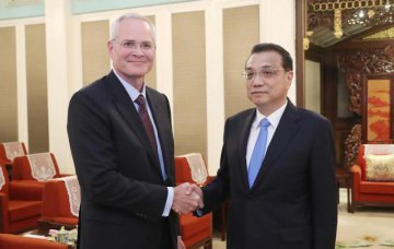 Chinese premier meets ExxonMobil chairman and CEO