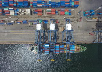 Chinas foreign trade up 9.1 pct in first eight months