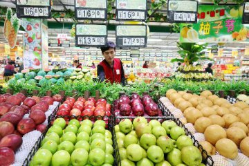 Chinas consumer inflation accelerates for third month