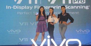 "Chinas Vivo launches new smartphone ""V11 Pro"" in Bangladesh"