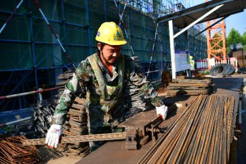 China adds 375 million jobs in past 40 years