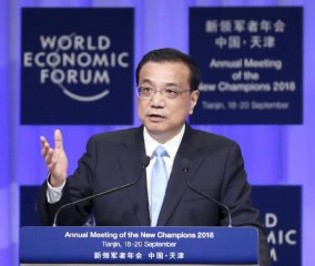 New growth drivers break new ground for Chinese economy: Premier Li