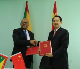 China, Grenada signs MOU to cooperate on B&R construction