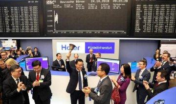 Haiers D-shares start trading in Frankfurt