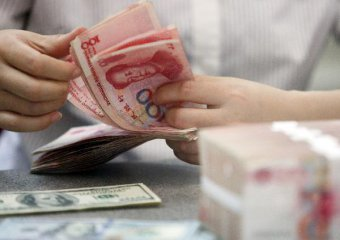 Chinese banks see drop in net forex sales