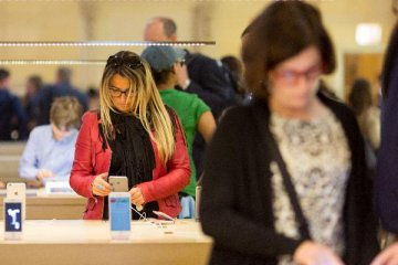 Apple reports 20 percent increase in quarterly revenue