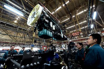 China's Caixin PMI up by 0.1 pct. in Oct.
