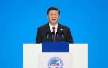 Chinas import expo opens, Xi urges building an open world economy