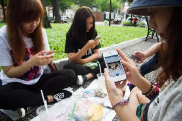 China fights illicit activities on social media
