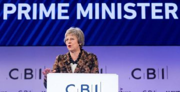 British PM enlists business leaders to back her Brexit deal