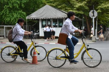Chinas bike-sharing giant is cash-strapped