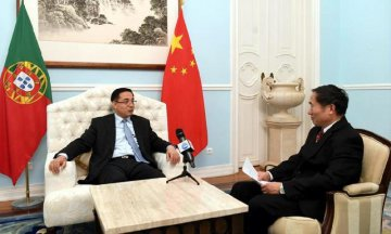 Ambassador : Xis visit to open new chapter for Sino-Portuguese relations,