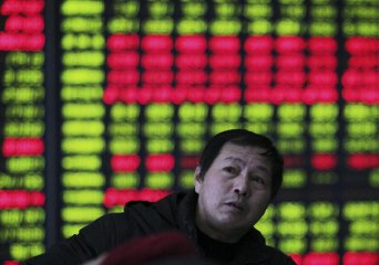 ​Chinese shares open lower Monday