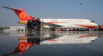Chinas civil aviation industry aims high