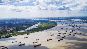 Yangtze River -- a golden economic belt in full swing