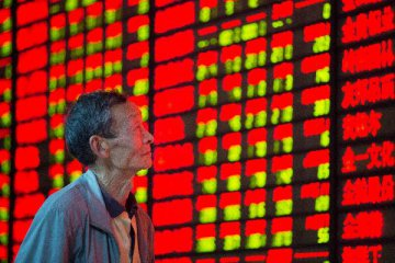 Hong Kong shares up 1.70% by midday,Chinese shares close higher by midday