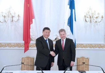 Chinas development offers Finland more opportunities: Niinisto
