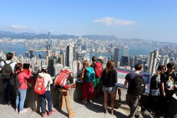 ​More than 10m tourists visit Hong Kong via cross-border rail link,bridge