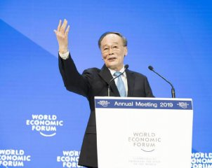 Chinese VP made a speech at World Economic Forum