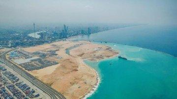 "China, Sri Lanka jointly build ""shining pearl of Indian Ocean"""