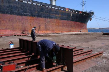 Chinas crackdown on pollution is a boon to the worlds shipbuilders
