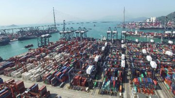 Hong Kong exports of goods up 7.3 pct in 2018