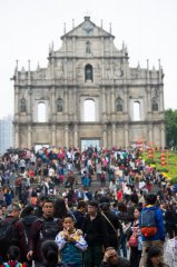 Visitor arrivals in Macao surge by 26.6 pct during Spring Festival