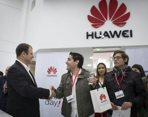 U.S campaign against huawei aground in an exploding tech market