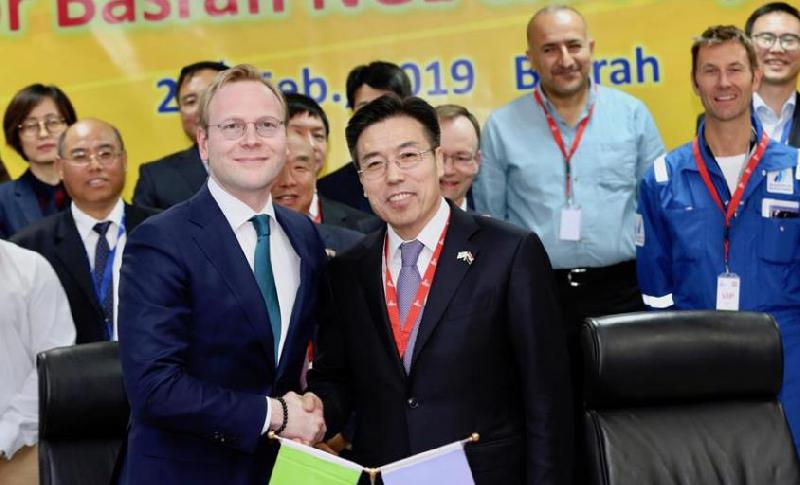Chinese oil, gas contractor inks deal to construct gas plant