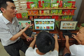 Chinas retail sales up 8.2 pct in Jan.-Feb.