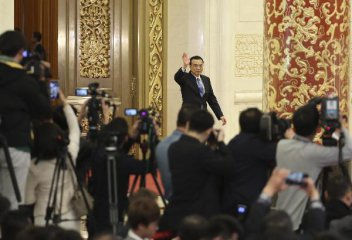 Premier Li urges China, Russia to double trade