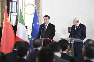 Xi:business, cultural to make contribution to China-Italy cooperation
