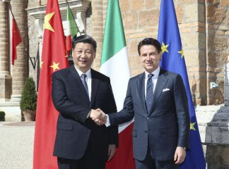 Xi leaves Rome with fruitful results, MoU on BRI included