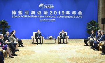 Chinese premier meets members of BFA board of directors