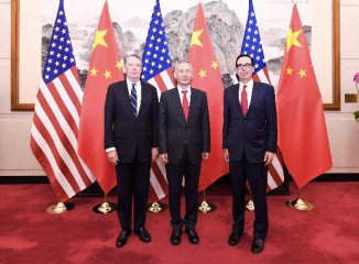 China, U.S. hold 8th round of trade talks in Beijing