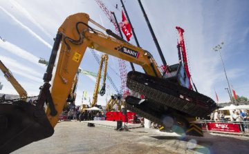 China heavy equipment maker Sany profit surges 192 pct in 2018