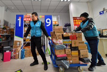 Chinese couriers report strong Q1 growth