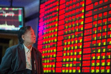 Fading fears of a 'hard landing' for China's economy push stocks higher