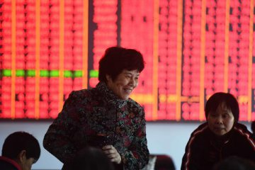 Chinas stock markets are up more than 30 percent so far this year